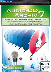 Audio-CD Archiv 7 PC
