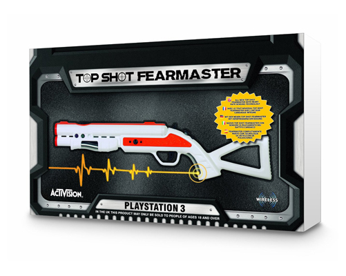Top Shot Fearmaster Gun Pistole PS3