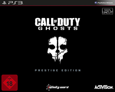 Call of Duty - Ghosts - Prestige Edition PS3