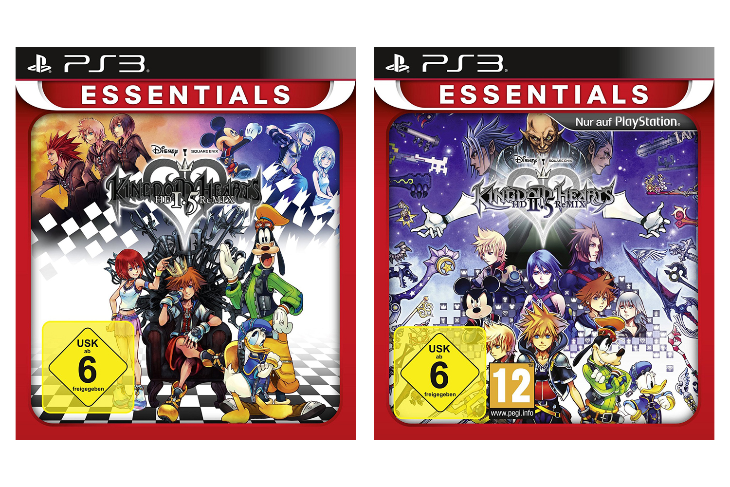 Kingdom Hearts: HD 1.5 ReMIX + 2.5 ReMIX PS3