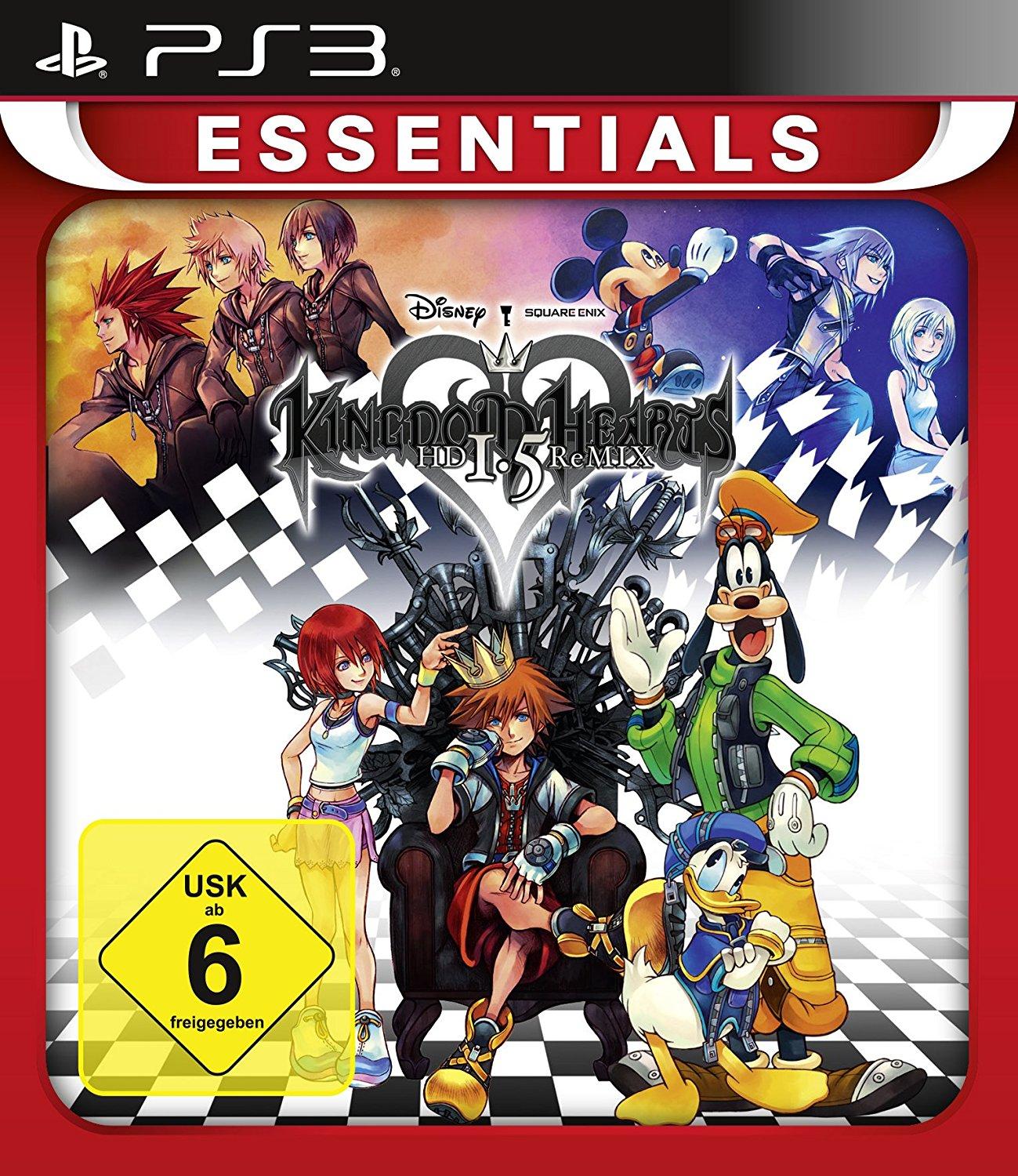 Kingdom Hearts: HD 1.5 ReMIX PS3