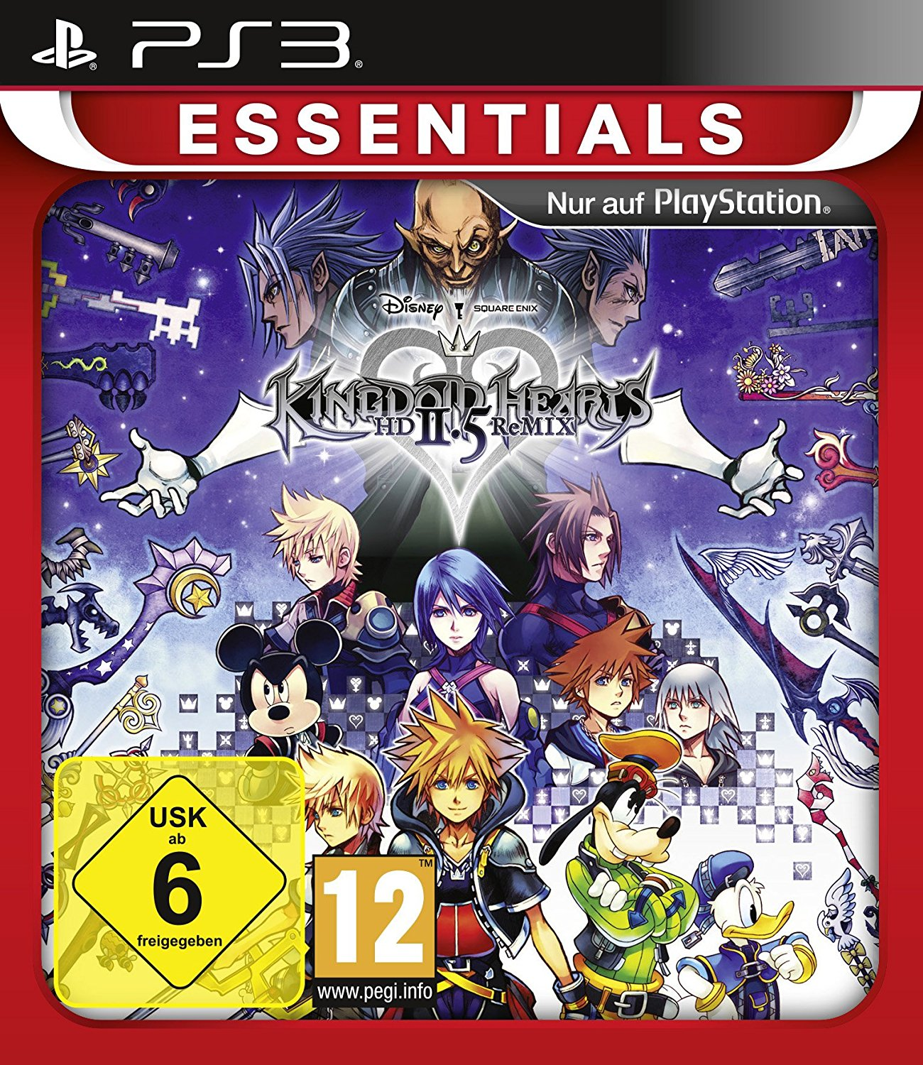 Kingdom Hearts: HD 2.5 ReMIX PS3