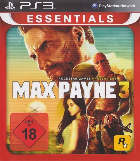 Max Payne 3 PS3 [Essentials]