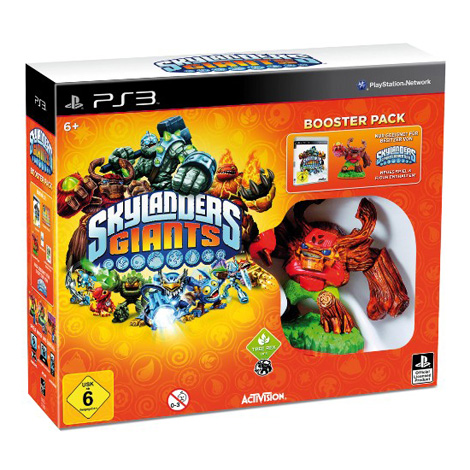 Skylanders: Giants - Booster Pack inkl. Figur PS3