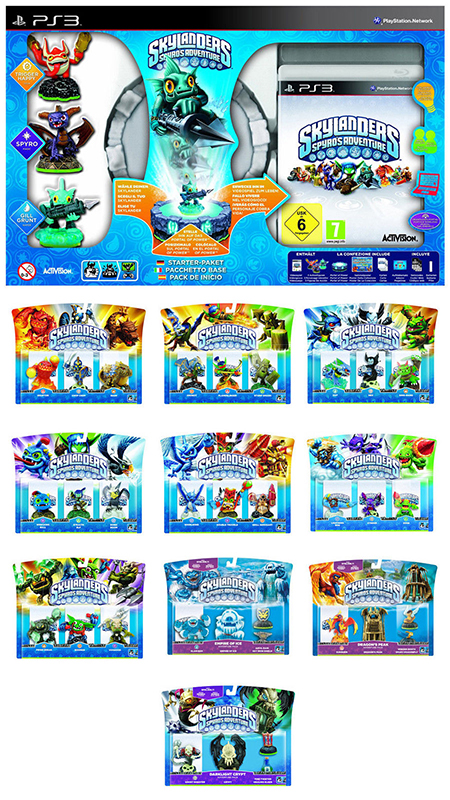 Skylanders: Spyro's Adventure - Das Komplette Set PS3