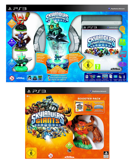 Skylanders: Spyro's Adventure - Starter Pack + Giants Booster Pack PS3