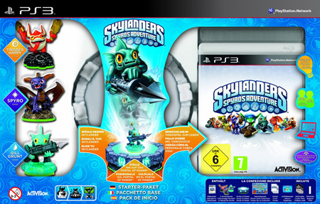 Skylanders: Spyro's Adventure - Starter Pack inkl. 3 Figuren PS3
