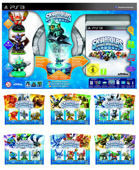 Skylanders: Spyro's Adventure - Starter Pack inkl. 21 Figuren PS3