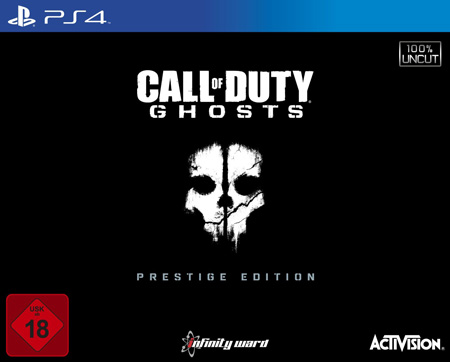 Call of Duty - Ghosts - Prestige Edition PS4