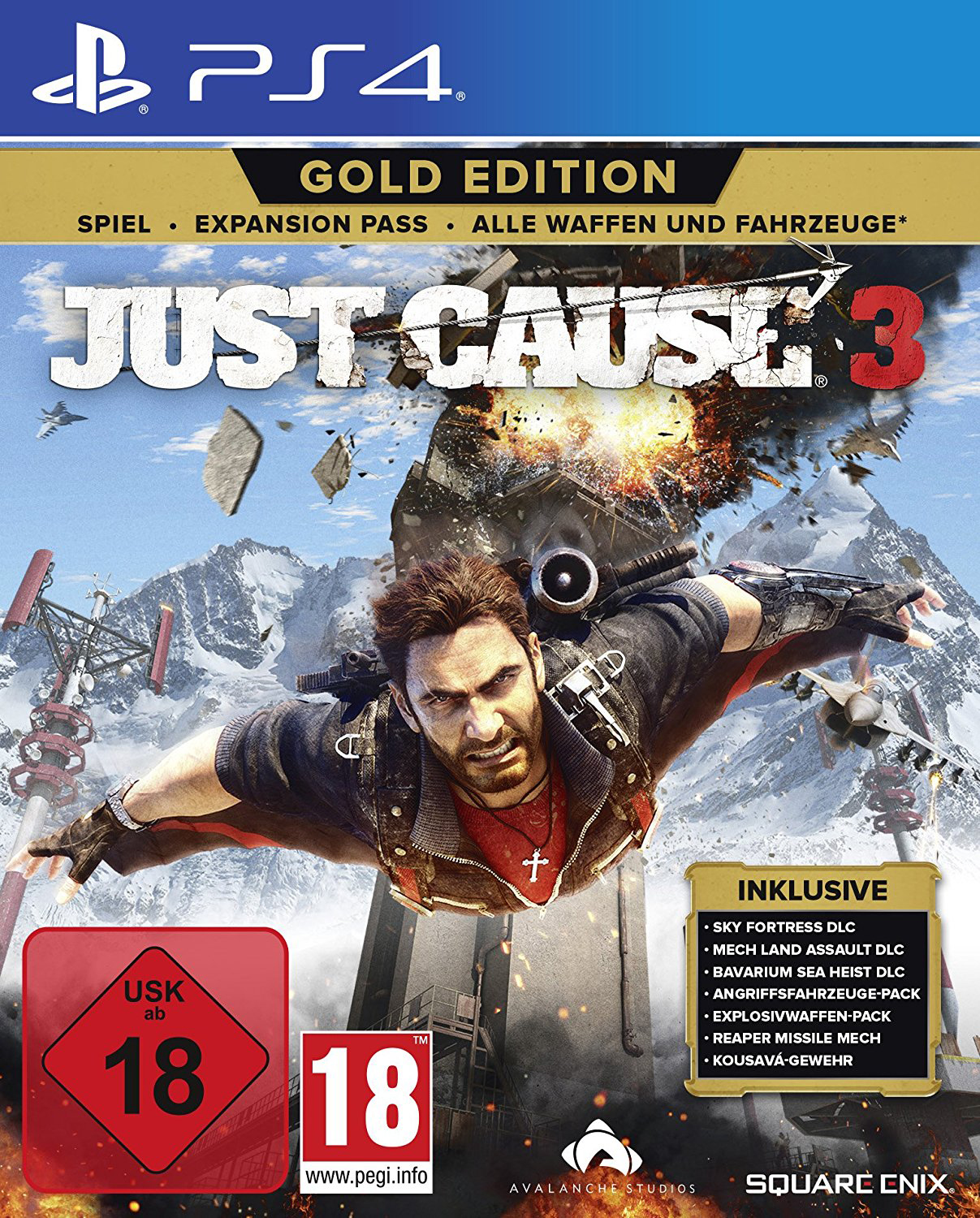 Just Cause 3 - Gold Edition PS4