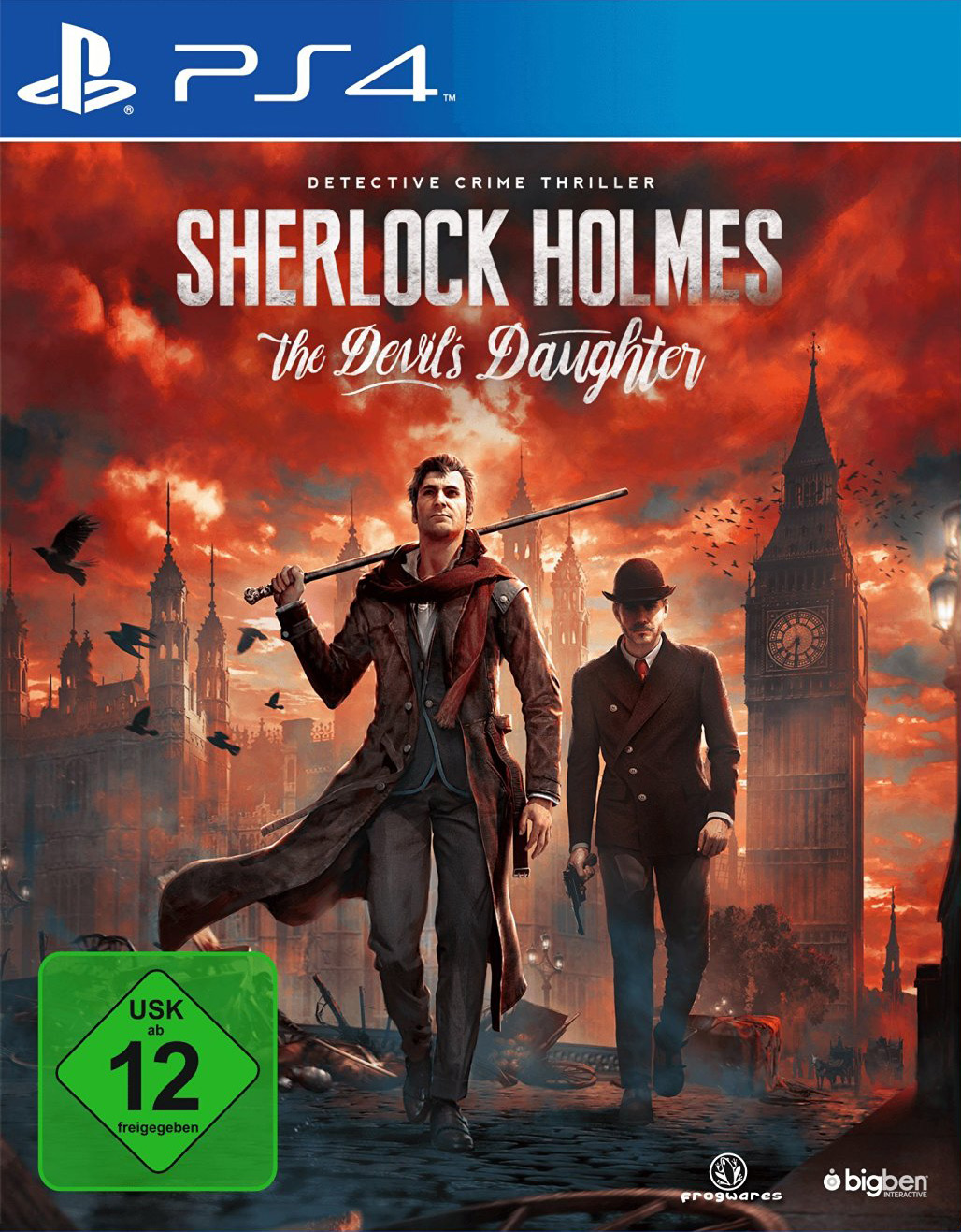 Sherlock Holmes - The Devils Daughter PS4