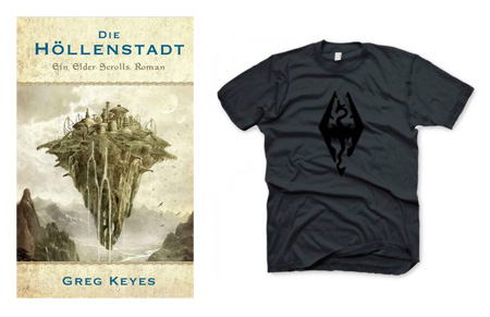 The Elder Scrolls: Die Höllenstadt | Greg Keyes + T-Shirt