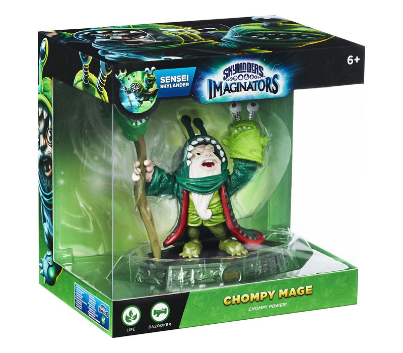 Skylanders Imaginators - Exclusive Chompy Mage - Sensei