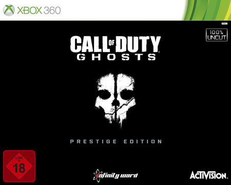 Call of Duty - Ghosts - Prestige Edition XBOX 360