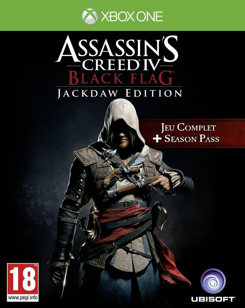 Assassin's Creed 4: Black Flag - Jackdaw Edition XBOX ONE [FR]