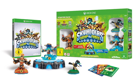 Skylanders: Swap Force - Starter Pack inkl. 3 Figuren XBOX ONE