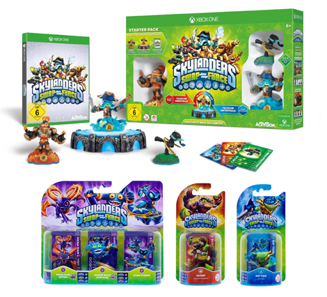 Skylanders: Swap Force - Starter Pack inkl. 8 Figuren XBOX ONE
