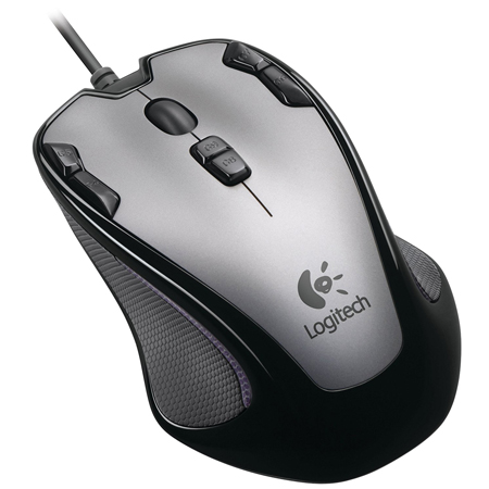 Logitech G300 - Optical Gaming Maus USB (Grau-Schwarz)