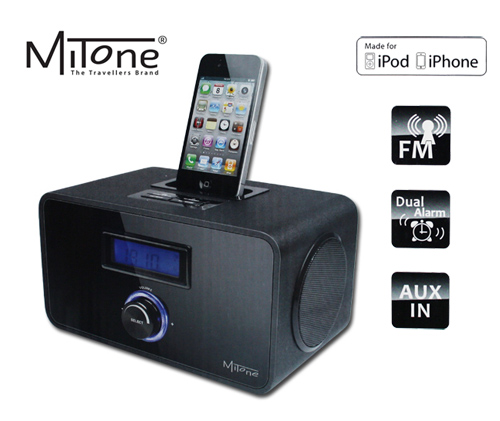 MiTone-MITSP23-Docking-Soundstation-Radio-Wecker-Lautsprecher-fuer-iPod-iPhone