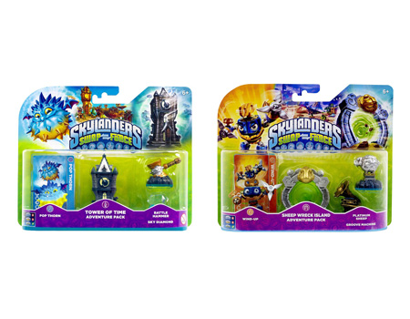 Skylanders: Swap Force - Adventure Pack 1 + 2