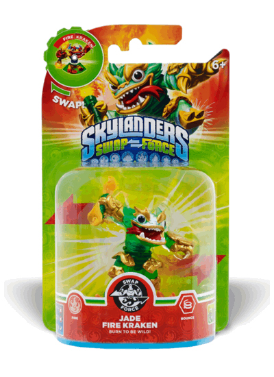 Skylanders: Swap Force - Jade Fire Kraken