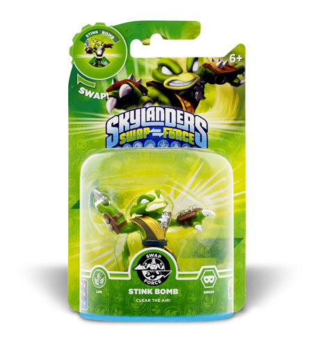 Skylanders: Swap Force - Stink Bomb