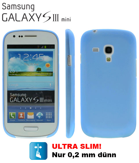 Ultra Slim TPU Case für Samsung Galaxy S3 mini i8190 | 82035 Blau