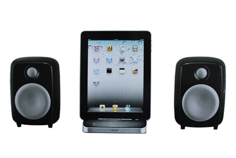 mitone sound system lautsprecher dockingstation f r ipad 1 2 3 iphone 3 4 ipod ebay. Black Bedroom Furniture Sets. Home Design Ideas