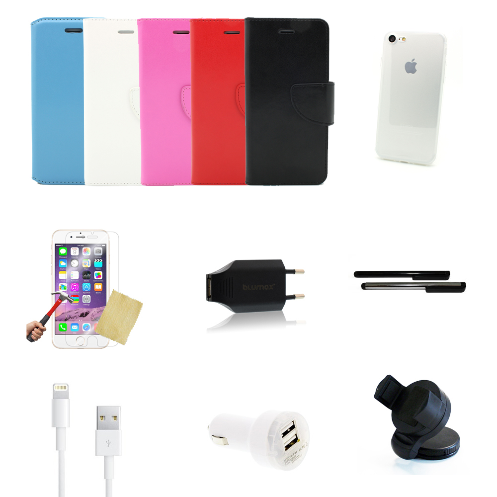13 teiliges Apple iPhone 7 Zubehör Set