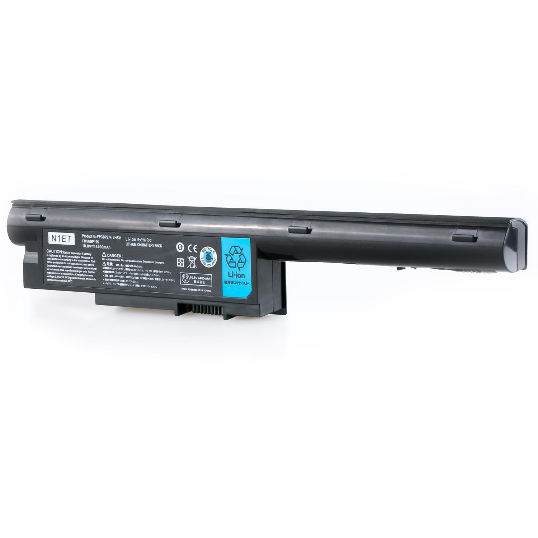 Akku für Fujitsu Siemens FMVNBP195 usw. | 10.8V | 4400mAh | 805127