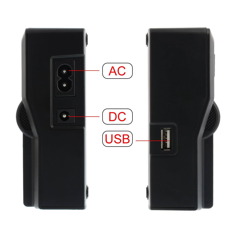 akku dual ladeger t charger f r samsung ed bp1030 ed bp1130 90345 ebay. Black Bedroom Furniture Sets. Home Design Ideas
