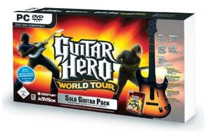 Guitar Hero World Tour Bundle [PC] (inkl. Gitarre) für nur 22 €!