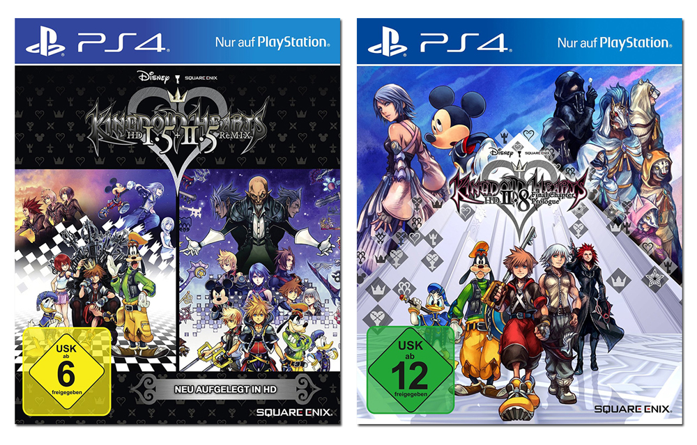 Kingdom Hearts HD 1.5 + 2.5 + 2.8 (Doppelpack) PS4