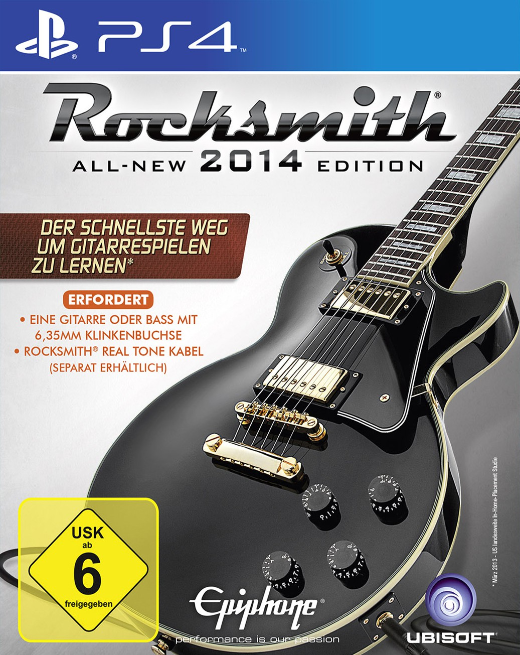 Rocksmith 2014 PS4