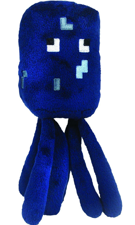 Original Minecraft - Plüsch Figur Stofftier 15-25 cm | Creeper Enderman usw. Tintenfisch