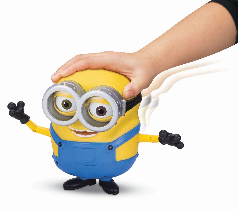 original minions  sprechende minion bob figur mit