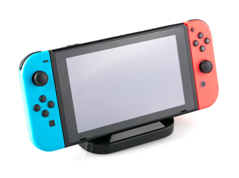 SKGAMES Ladestation für Nintendo Switch Konsole | Schwarz