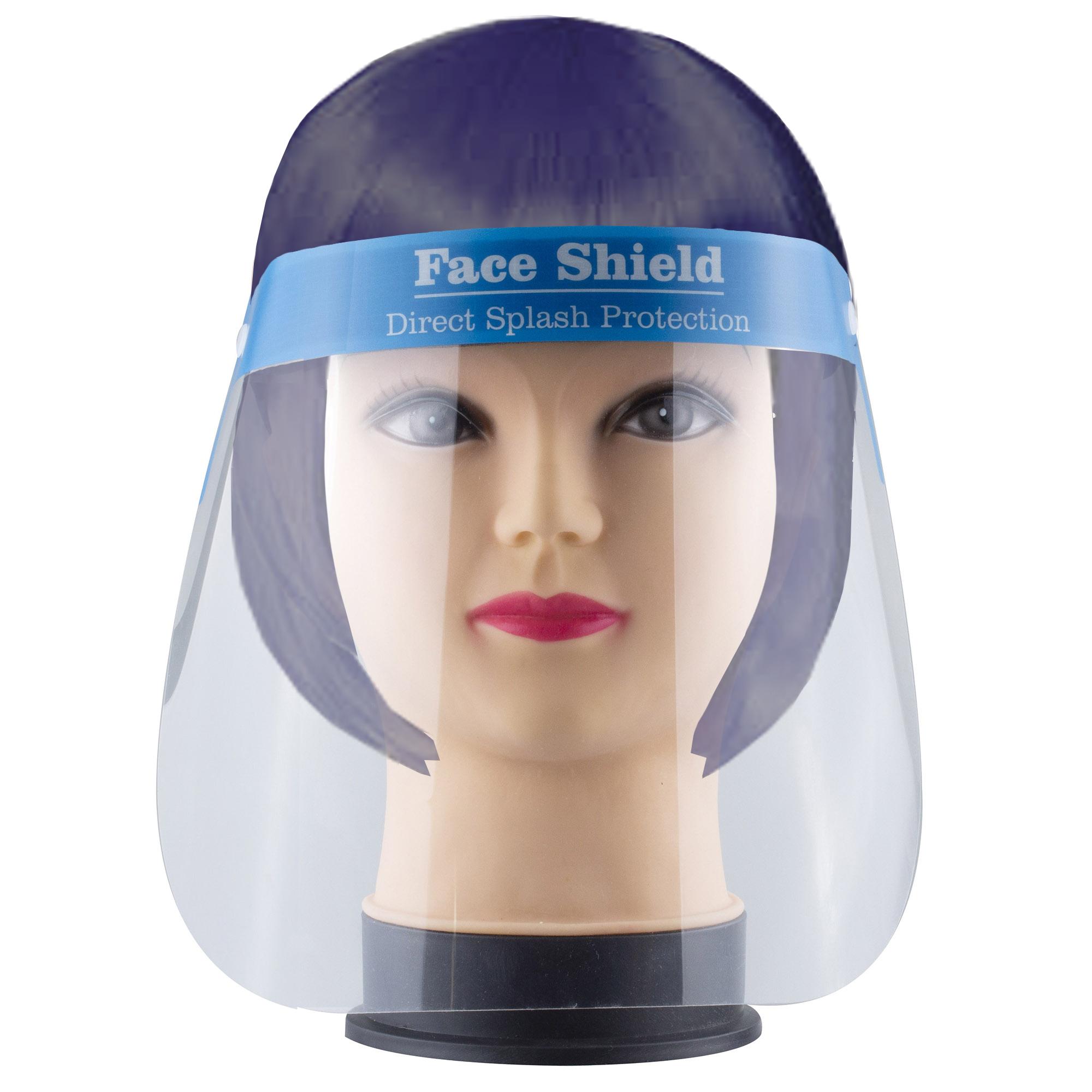 Gesichts Schutzschild Face Shield Visier aus Kunststoff 10 Visier Gesichtsschutz