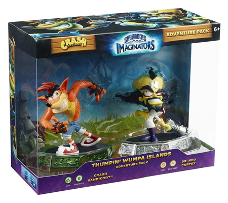 Skylanders Imaginators - Crash Bandicoot - Adventure Pack