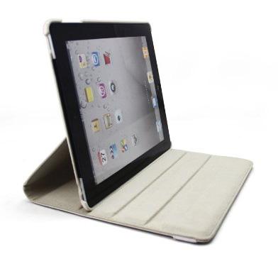 smart cover tasche case schutz h lle etui f r apple ipad 2 360 drehbar wei ebay. Black Bedroom Furniture Sets. Home Design Ideas